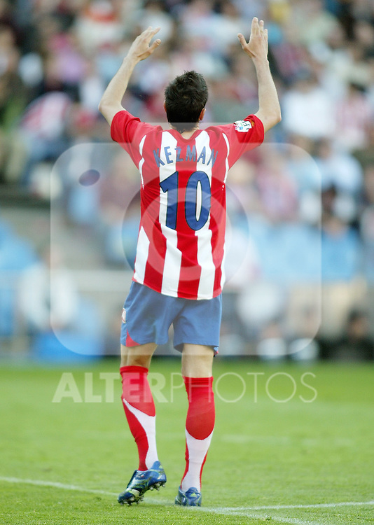 Atletico de Madrid's Mateja Kezman during Spanish La Liga match between Atletico de Madrid's and Celta de Vigo at Vicente Calderon Stadium, Spain, Sunday 02 April, 2006. (ALTERPHOTOS / ECHAVARRI).