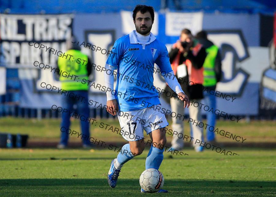 Fudbal Jelen Super League season 2015-2016<br /> Spartak v Partizan<br /> Goran Antonic<br /> Subotica, 29.11.2015.<br /> foto: Srdjan Stevanovic/Starsportphoto&copy;