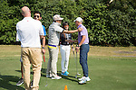 Putting competition on the practice green during the 58th UBS Hong Kong Golf Open as part of the European Tour on 10 December 2016, at the Hong Kong Golf Club, Fanling, Hong Kong, China. Photo by Vivek Prakash / Power Sport Images