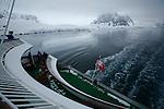 Passage Lemaire. Croisière à bord du NordNorge. Péninsule Antarctique