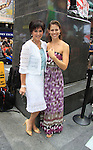 As The World Turns' Colleen Zenk poses with her daughter Kelsey and is a newly ordained Universal Life Church minister who officiated the wedding on August 18, 2012 in Times Square, New York City, New York. (Photos by Sue Coflin/Max Photos)