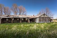 Abandoned barn near Hemingford, NE
