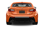 Straight rear view of 2017 Lexus RC F-GT 2 Door Coupe Rear View  stock images