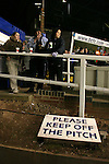 Birmingham City 0 Liverpool 7, 21/03/2006. St Andrews, FA Cup 6th Round. Birmingham City (blue) versus Liverpool,  The home side lost 0-7. Picture shows City fans enjoy pre-match refreshments. Photo by Colin McPherson.