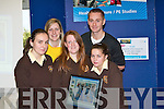 ..INFORMATION: Getting good advice on Health and Leisure on the Open Day at the ITT North Campus on Monday, Front l-r: Noreen Guiney, Siobhan Diggin and Danielle O'Connor (Listowel Presentation) Back l-r: Instructors on Healt and Leisure ITT, l-r: Megan Shelley and Joe O'Connor......   Copyright Kerry's Eye 2008