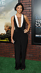 Morena Baccarin at the premiere for Trouble With The Curve, at The Village Theatre in Westwood, CA. September 19, 2012