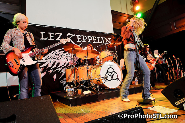 Lez Zeppelin in concert at Old Rock House in St. Louis, MO on July 11, 2010.