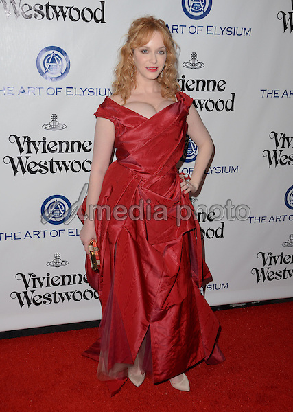 09 January  - Los Angeles, Ca - Christina Hendricks. Arrivals for The Art of Elysium's Presents Vivienne Westwood & Andreas Kronthaler's 2016 HEAVEN Gala held at 3Labs. Photo Credit: Birdie Thompson/AdMedia