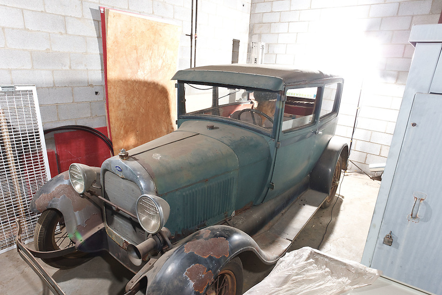 Sale of Antique Car located in the Warehouse - Transportation building on Mayflower Drive in Lynchburg, VA,  March 22, 2012. (Photo by David Duncan)