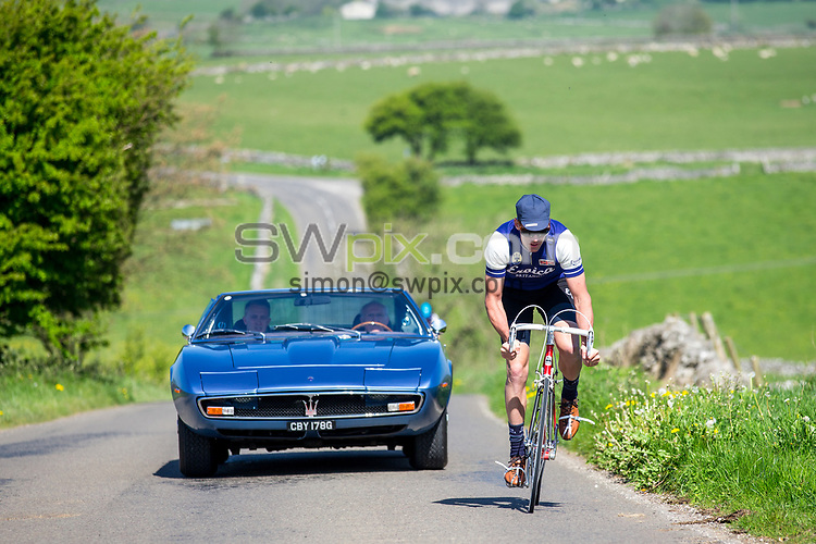 Picture by Alex Whitehead/SWpix.com - 10/05/2017 - Cycling - Maserati Eroica Britannia Ride with David Millar.