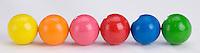 Bubble gum balls.