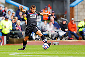 10th September 2017, Turf Moor, Burnley, England; EPL Premier League football, Burnley versus Crystal Palace; Yohan Cabaye of Crystal Palace stretches for the ball