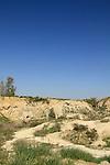 Israel, Negev, an abandoned sulphur mine in Beeri
