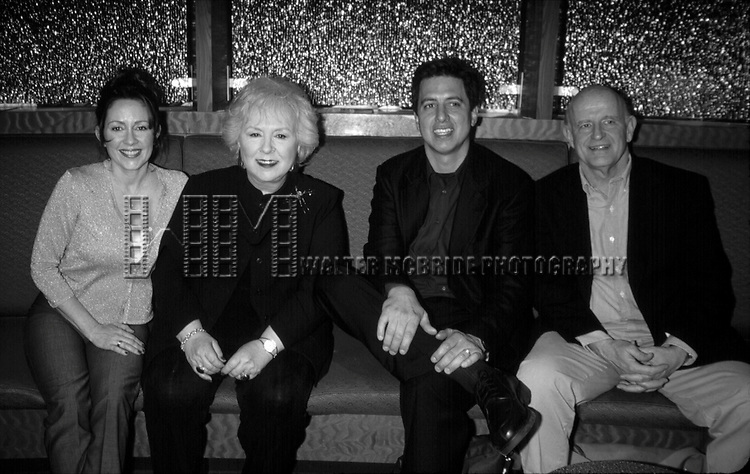 Patricia Heaton, Ray Romano, Doris Roberts and Peter Boyle attending the N.A.T.P.E  Convention<br /> New Orleans, La.<br /> January 2000.