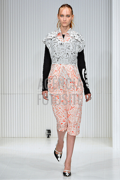 Londres, Inglaterra &sbquo;09/2014 - Desfile de Ashley Williams na Semana de moda de Londres  -  Verao 2015. <br /> <br /> Foto: FOTOSITE