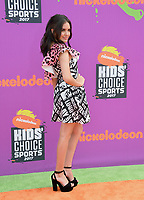 Lilimar Hernandez at Nickelodeon's Kids' Choice Sports 2017 at UCLA's Pauley Pavilion. Los Angeles, USA 13 July  2017<br /> Picture: Paul Smith/Featureflash/SilverHub 0208 004 5359 sales@silverhubmedia.com