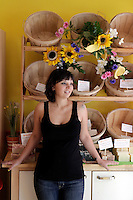 Marie Labropoulos relocated her artisanal soap business from Scarsdale to Dobbs Ferry  about a year ago...Danny Ghitis for The New York Times