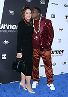 NEW YORK, NY - MAY 16: Tracy Morgan, Megan Wollover at Turner Upfront 2018 at Madison Square Garden in New York. May 16, 2018 Credit: RW/MediaPunch