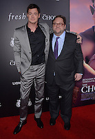 "01 February  - Hollywood, Ca - Benjamin Walker, Ross Katz. Arrivals for the Los Angeles special screening of ""The Choice"" held at Arclight Hollywood. Photo Credit: Birdie Thompson/AdMedia"
