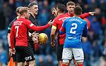 16.03.2019 Rangers v Kilmarnock: Ref Greg Aitken at half time