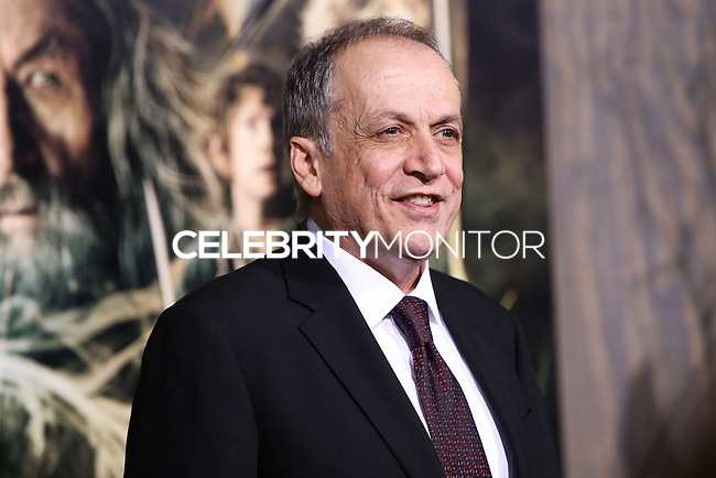 "HOLLYWOOD, CA - DECEMBER 02: Joe Letteri arriving at the Los Angeles Premiere Of Warner Bros' ""The Hobbit: The Desolation Of Smaug"" held at Dolby Theatre on December 2, 2013 in Hollywood, California. (Photo by Xavier Collin/Celebrity Monitor)"