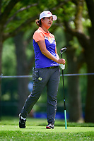 Min Seo Kwak (KOR) reacts to her tee shot on 17 during Thursday's round 1 of the 2017 KPMG Women's PGA Championship, at Olympia Fields Country Club, Olympia Fields, Illinois. 6/29/2017.<br /> Picture: Golffile | Ken Murray<br /> <br /> <br /> All photo usage must carry mandatory copyright credit (&copy; Golffile | Ken Murray)