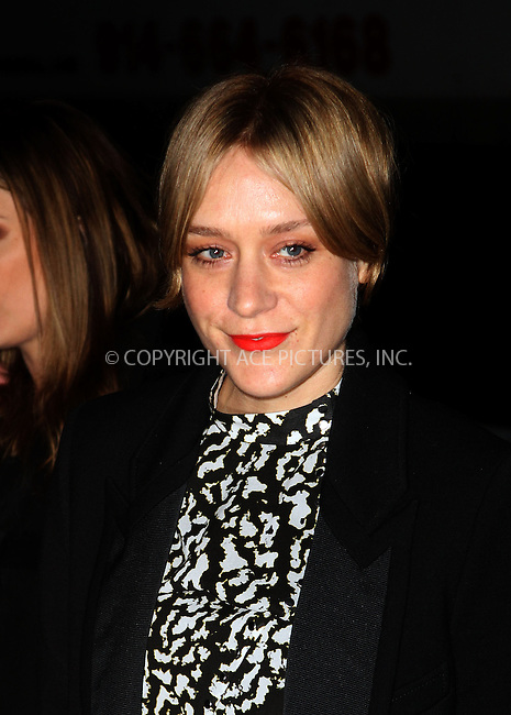 WWW.ACEPIXS.COM....February 6 2013, New york City....Chloe Sevigny arriving at the amfAR New York Gala To Kick Off Fall 2013 Fashion Week at Cipriani Wall Street on February 6, 2013 in New York City.....By Line: Zelig Shaul/ACE Pictures......ACE Pictures, Inc...tel: 646 769 0430..Email: info@acepixs.com..www.acepixs.com