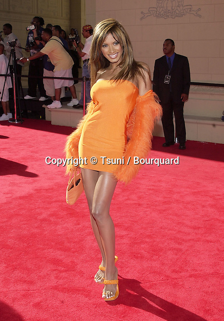 Traci Bingham - Baywatch -   arriving at The first BET  - Black Entertainment Television - Awards at the Paris Hotel in Las Vegas. The show didn't  run from Los Angeles but from Las Vegas.  June 19, 2001 BinghamTraci14.JPG