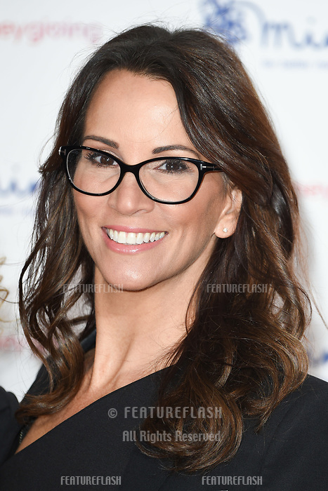Andrea McLean at the Virgin Money Giving Mind Media Awards at the Odeon Leicester Square, London, UK. <br /> 13 November  2017<br /> Picture: Steve Vas/Featureflash/SilverHub 0208 004 5359 sales@silverhubmedia.com