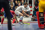 Mannheim, Germany, January 08: During the 1. Bundesliga men indoor hockey match between TSV Mannheim and Mannheimer HC on January 8, 2020 at Primus-Valor Arena in Mannheim, Germany. Final score 5-4. (Photo by Dirk Markgraf / www.265-images.com) *** Nicolas Proske #9 of TSV Mannheim