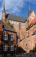 Kirche St. Georgen, 13. Jh. in Wismar, Mecklenburg-Vorpommern, Deutschland, UNESCO-Weltkulturerbe