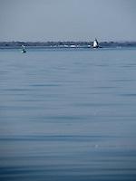 An autumn boat ride near Conimicut Lighthouse.