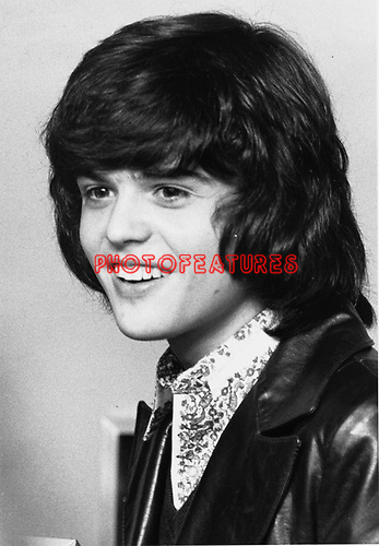 Donny Osmond 1973.© Chris Walter.