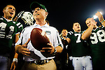 Ohio head coach Frank Solich