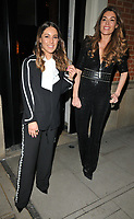Louise Thompson and Sophie Stanbury at the Bardou Foundatioon's International Women's Day Gala, The Hospital Club, Endell Street, London, England, UK, on Thursday 08 March 2018.<br /> CAP/CAN<br /> &copy;CAN/Capital Pictures