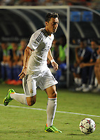 07.08.2013.Miami, Florida, USA.  Mesut Oziel (10)  during the second half of the  the final of the Guinness International Champions Cup between Real madrid and Chelsea. The game was won by a score of 3-1 by Real Madrid with Ronaldo scoring a brace.