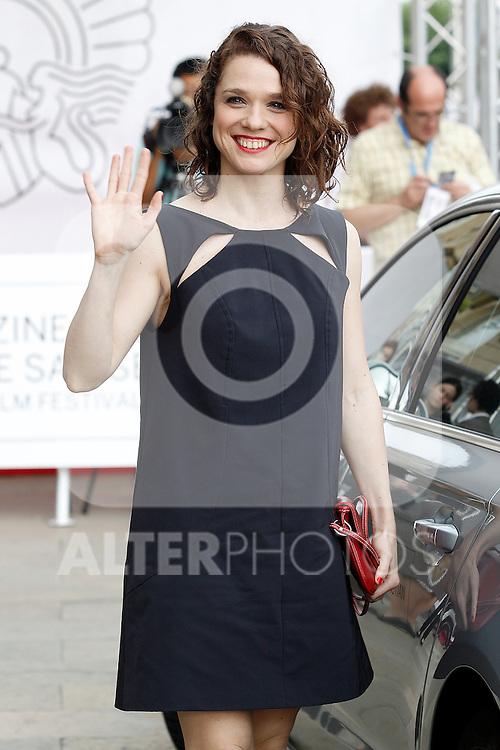 The actress Valeria Alonso attends the photocall of 'El muerto y ser feliz' during the 60th San Sebastian Donostia International Film Festival - Zinemaldia.September 23,2012.(ALTERPHOTOS/ALFAQUI/Acero)