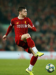 Andrew Robertson of Liverpool  during the UEFA Champions League match at Anfield, Liverpool. Picture date: 27th November 2019. Picture credit should read: Andrew Yates/Sportimage