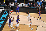 in the 2018 NCAA Men's Final Four semifinal game at the Alamodome on March 31, 2018 in San Antonio, Texas.