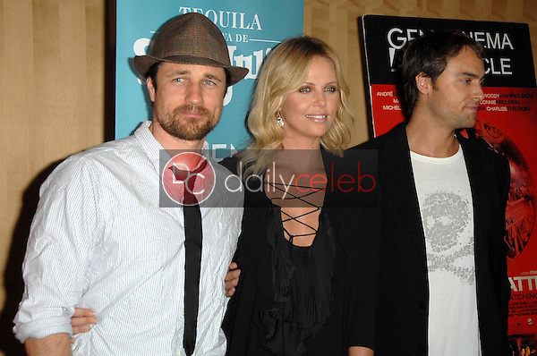 Martin Henderson with Charlize Theron and Stuart Townsend<br />at the Los Angeles Premiere of 'Battle in Seattle'. Clarity Theatre, Beverly Hills, CA. 09-22-08<br />Dave Edwards/DailyCeleb.com 818-249-4998