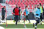 09 December 2016: Toronto's Steven Beitashour (IRN). Toronto FC held a training session one day before playing in MLS Cup 2016 at BMO Field in Toronto, Ontario in Canada.
