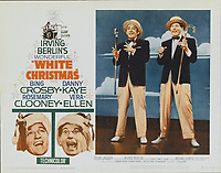 White Christmas (1954) <br /> Lobby card with Bing Crosby, Danny Kaye, Vera-ellen &amp; Rosemary Clooney<br /> *Filmstill - Editorial Use Only*<br /> CAP/KFS<br /> Image supplied by Capital Pictures