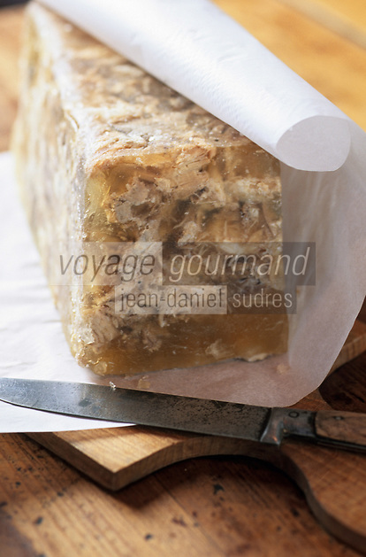 "Europe/France/Nord-Pas-de-Calais/59/Nord/Flandre/Godewaersvelde: Estaminet ""Le Blauwershof"" - Potje'vleesh recette flamande"