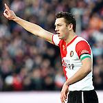 Nederland, Rotterdam, 27 januari  2013.Eredivisie.Seizoen 2012/2013.Feyenoord-FC Twente.Stefan de Vrij van Feyenoord in actie