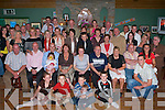 70 YEARS YOUNG: Sheila Kenny, Ballyheigue (seated 5th right) celebrating her 70th with large crowd of family and friends at the Ballyheigue Golf Club on Saturday night.   Copyright Kerry's Eye 2008