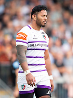 Leicester Tigers' Manu Tuilagi<br /> <br /> Photographer Bob Bradford/CameraSport<br /> <br /> Gallagher Premiership - Exeter Chiefs v Leicester Tigers - Saturday September 1st 2018 - Sandy Park - Exeter <br /> <br /> World Copyright © 2018 CameraSport. All rights reserved. 43 Linden Ave. Countesthorpe. Leicester. England. LE8 5PG - Tel: +44 (0) 116 277 4147 - admin@camerasport.com - www.camerasport.com