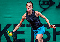 Hilversum, Netherlands, Juli 29, 2019, Tulip Tennis center, National Junior Tennis Championships 12 and 14 years, NJK, Moud Hermans (NED)<br /> Photo: Tennisimages/Henk Koster