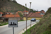 Serbia. Veliki Trnovac (in Albanian: Tërnoc i Madh) is a town in the municipality of Bujanovac, located in the Pčinja District of southern Serbia. An Opel car on the asphalt road. Traffic sign to signal the town's entrance. Bujanovac is located in the geographical area known as Preševo Valley. Opel is a German automobile manufacturer part of the French Groupe PSA since August 2017. The Pestalozzi Children's Foundation (Stiftung Kinderdorf Pestalozzi) is advocating access to high quality education for underprivileged children. It supports in Bujanovac a project called » Our towns, our schools ».16.4.2018 © 2018 Didier Ruef for the Pestalozzi Children's Foundation
