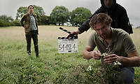 Behind the scenes photo of Ruth Wilson & Mark Stanley<br /> Dark River (2017) <br /> *Filmstill - Editorial Use Only*<br /> CAP/RFS<br /> Image supplied by Capital Pictures