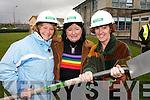 DEVELOPMENT: Attending the turning the sod cermony for a new C¨3.3 million extension to the Nano Nagle School in Listowel on Thursday last were Anne O'Carroll (Asdee), Ann Lanigan (Ballylongford) and Gabrielle Browne (Tralee).